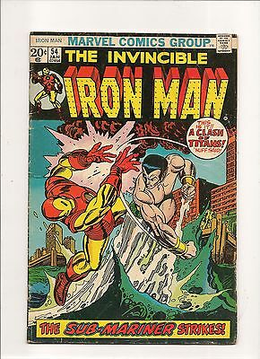 Iron Man #54 (Jan 1973, Marvel) First Appearance of Moon Dragon