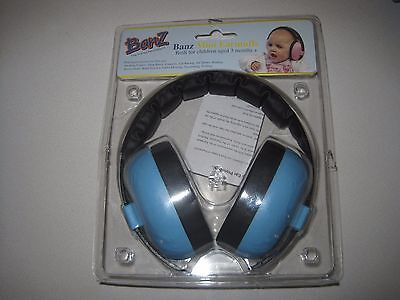 Baby Banz Baby Newborn Hearing Protection Earmuff, 3 months+ Multiple Variations