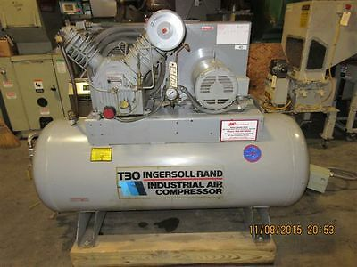 1991 INGERSOLL-RAND T3010120H Air Compressor