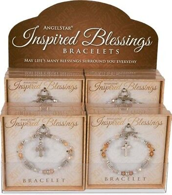 AngelStar Inspired Blessings Bracelets 12 Pieces