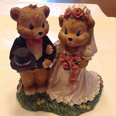 "Bear Seasons ""Wedding Bears"" Exclusive Special Editions Figurine"