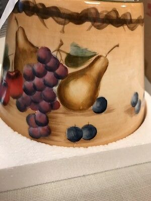 Home Interiors Candle Topper Shade, Sonoma Fruit Nib