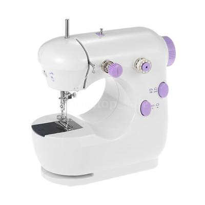 Mini Electric Household Sewing Machine Adjustable High/Low Speed Foot Pedal B2L5