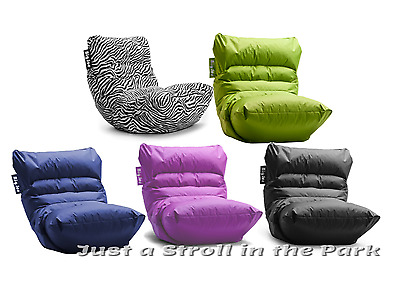 Beau Big Joe Roma Bean Bag Waterproof Lounge Chair Multiple Colors NEW!