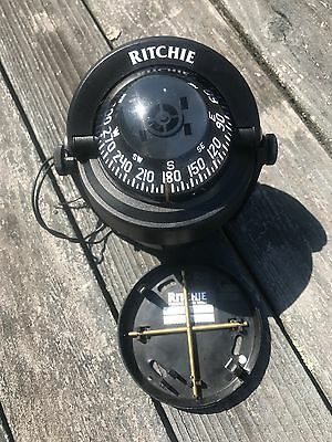 Ritchie B-51 + S-53 Explorer Compass with bulkhead or deck mount