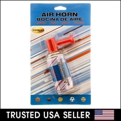 2pk PARTY AIR HORN Hand Held TRAINING ~ BOAT SPORTS PARTY HORN LOUD BLAST .81oz