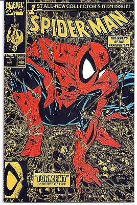 Spider-Man 1 Gold, Silver, and Green Covers ALL THREE VF/NM