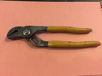 """Vintage Klein & Sons -D502-6""""- Long Pump Adjustable Pliers Made In Chicago Usa."""