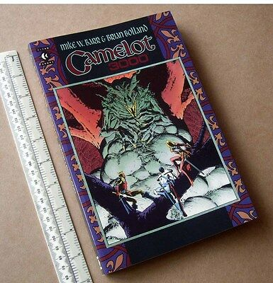 "1988 Titan Books Graphic Novel ""Camelot 3000"" DC Comics Barr & Bolland. Unread"