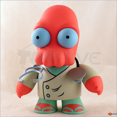 Futurama Dr. John Zoidberg displayed KidRobot 6-inch vinyl collectible figure