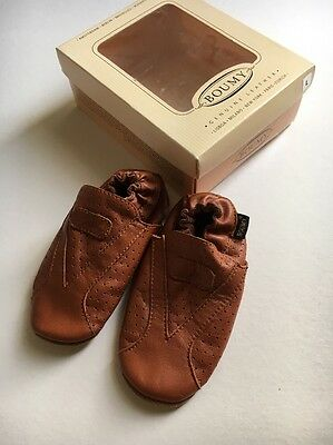 Baby/Toddler Leather Shoes Size L Aged 12-24 Months - New In Box