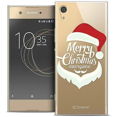 "Coque Crystal Gel Sony Xperia XA1 Ultra (6"") Extra Fine Souple Noël 2017 Merry E"
