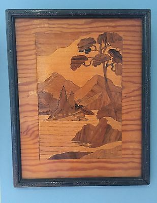 wood marquetry inlay picture