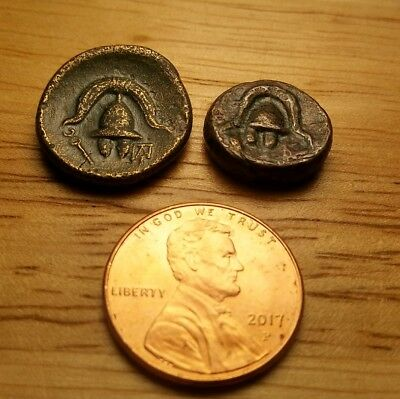 2 Ancient Roman Coins Good Condition For Age No Reserve  #2