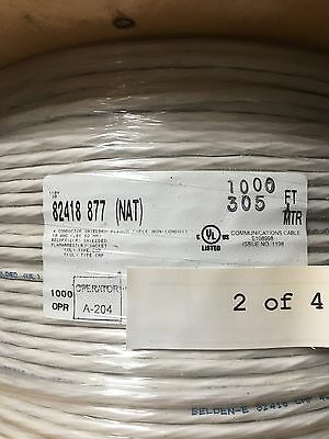 Belden 82418 4 conductor cable (1000') New