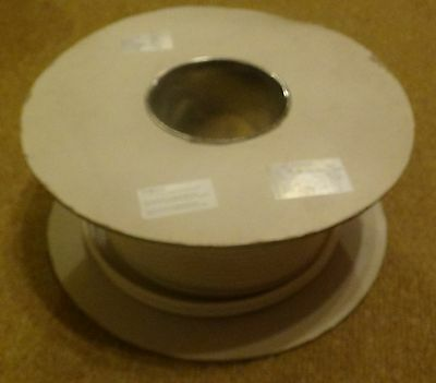 Telephone Cable, 4 Pair, 8 core, White.  Part Used 200m Drum