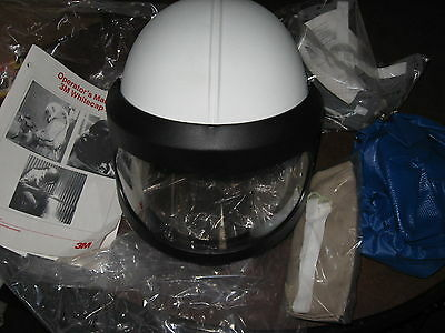 3M-Whitecap II  Abrasive-Blasting-Helmet-Assembly Supplied Air Respirator