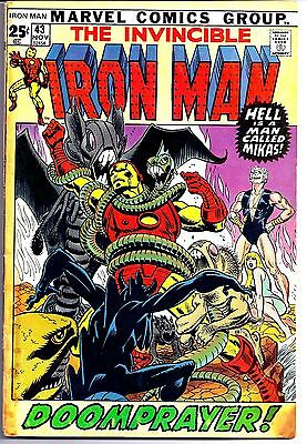 Iron Man 43 1971 1St Appearance Of The Guardsman