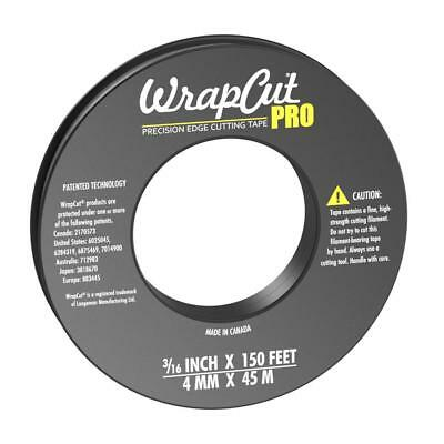 WrapCut Pro Precision Edge Cutting Tape, 150 ft (1 Roll)