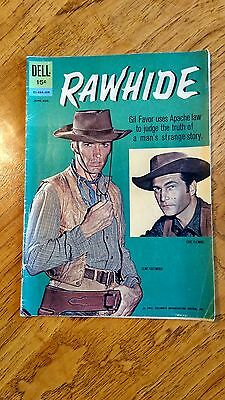 Rawhide, Jun-aug 62 - Vintage Dell Western  Comic - Clint Eastwood Cover!