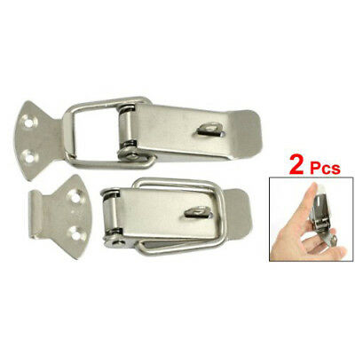 Hardware Tool Aviation Case Toolbox Stainless Steel Toggle Latch 2 Pcs U7X8