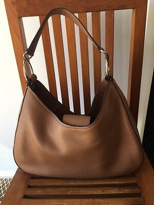 Oroton Ladies Tan Handbag - As New