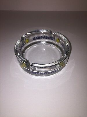 Lowenbrau Munchen Glass Ashtray Made in Germany