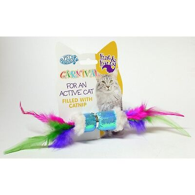 Pet Brands Catnip Crinkle Plush Cat Toy