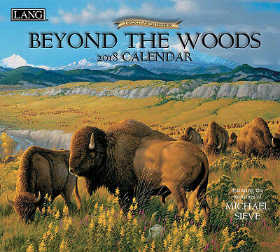Beyond The Woods 2018 Lang Full-Size Wall Calendar, January-December by Sieve