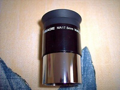 Meade 17.5MM MA multicoated telescope eyepiece NEW