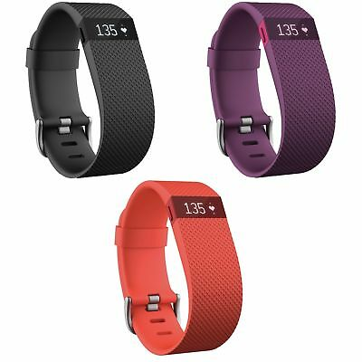 FitBit Charge HR Monitor Activity Tracker Wristband - Choice of Colour and Size