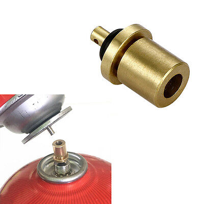 Outdoor Stove Gas Cylinder Bottle Refill Adapter Refilling Propane Camping Tools