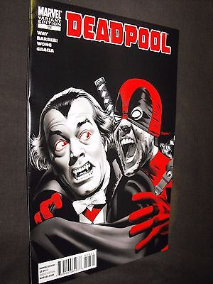 Deadpool # 28 Vampire Variant Marvel Comic Fine=Vf Condition
