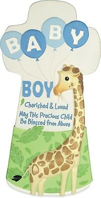 AngelStar Cherished Blessings Baby Boy Wall Cross