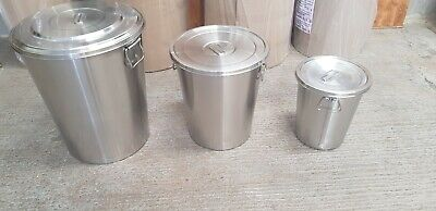 Stainless Steel drums crevice free drums brand new now available all  sizes.