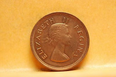 South Africa, 1953 1/4 Penny - Farthing, EF - AU, No Reserve,                851