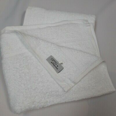 5 Pack White Hotel Soft Quality 500Gsm Hand Towels 100% Cotton Size 50X90Cm £3