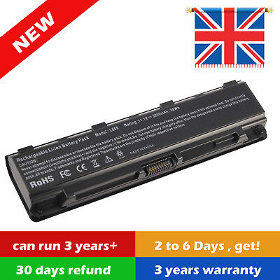 REPLACEMENT For TOSHIBA PA5109U-1BRS LAPTOP BATTERY PA5024U-1BRS L850 L870 M800