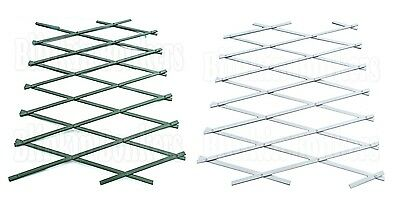 "Plastic Expanding Garden Wall Fence Panel Plant Trellis Support 6Ft X 16"" 35D"