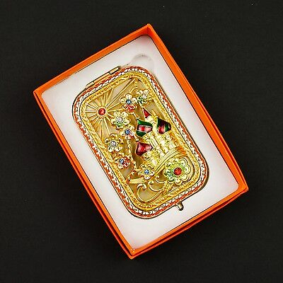Beautiful ornate Russian castles and flowers 3D compact with 1x 3x mirrors #0003