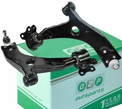 FOR FORD FOCUS MK2 & C-MAX FRONT LOWER SUSPENSION WISHBONE TRACK CONTROL ARMS x2