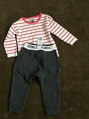 NWT Bonds girls size 0 outfit