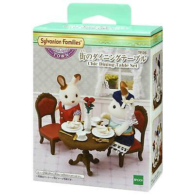 Sylvanian Families CHIC DINING TABLE SET TF-05 Town Series Calico Critters