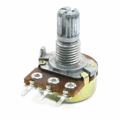 B1K 1K ohm 3 Pins Single Linear Rotary Adjustable Taper Potentiometer
