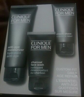 Clinique For Men Custom-Fit Daily Hydration Set- Normal to Dry skin
