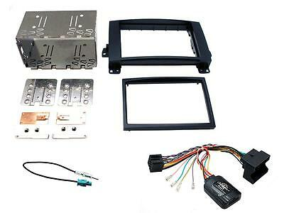 Connects2 CTKMB12 Mercedes A Class 04 - 12 Double Din Complete Fitting Kit