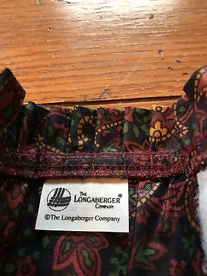 Longaberger Father's Day Paisley Handle Gripper