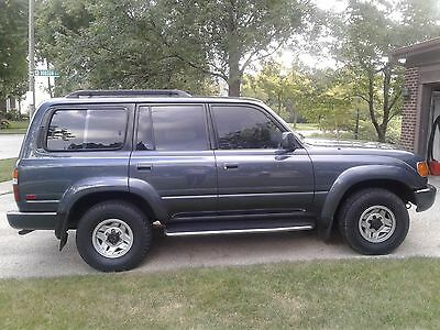 1992 Toyota Land Cruiser Base A beautiful near-stock Cruiser F80 in amazing condition