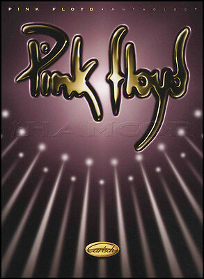 Pink Floyd Anthology Piano Vocal Guitar PVG Sheet Music Book