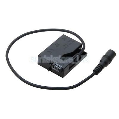 Fully Decoded Dummy Battery DC Coupler Connector for Canon LP-E6 550D Camera